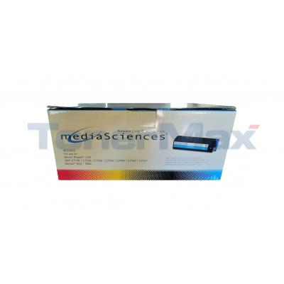 MEDIA SCIENCES TONER CYAN FOR OKI C7000